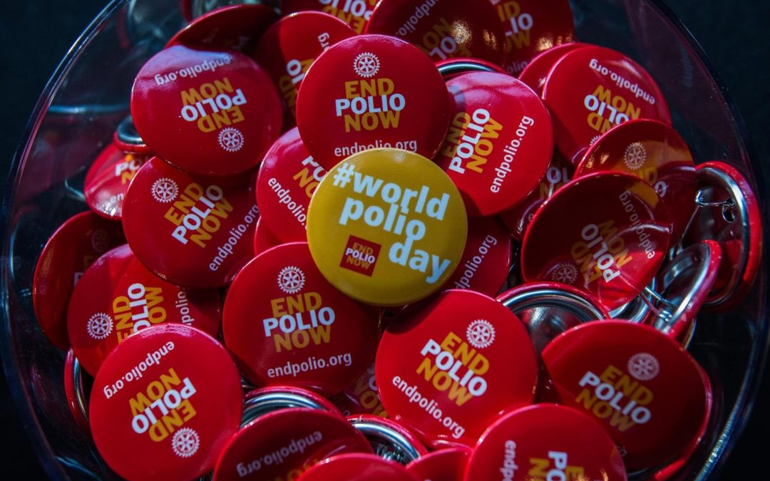 World Polio Day – 24 October: One Day. One Focus: Ending Polio!